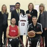 Wheelchair Basketball Canada National Academy Launch