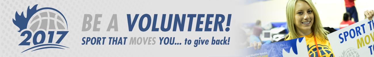 2017 U23WWBC Volunteer