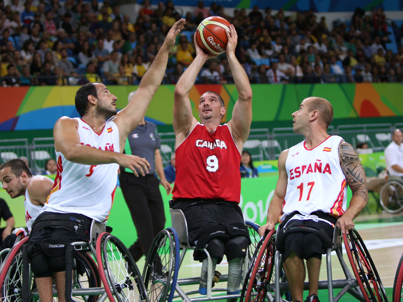 The Canadian men face Spain in their first preliminary match at the Rio 2016 Paralympic Games.