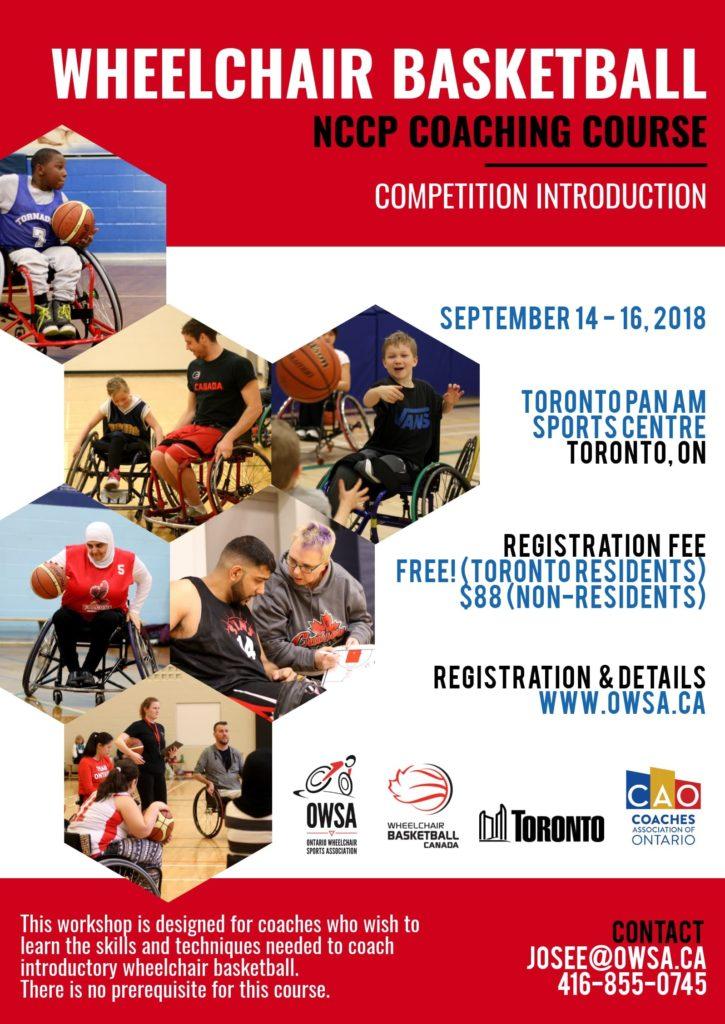 Coaching Calendar Wheelchair Basketball Canada
