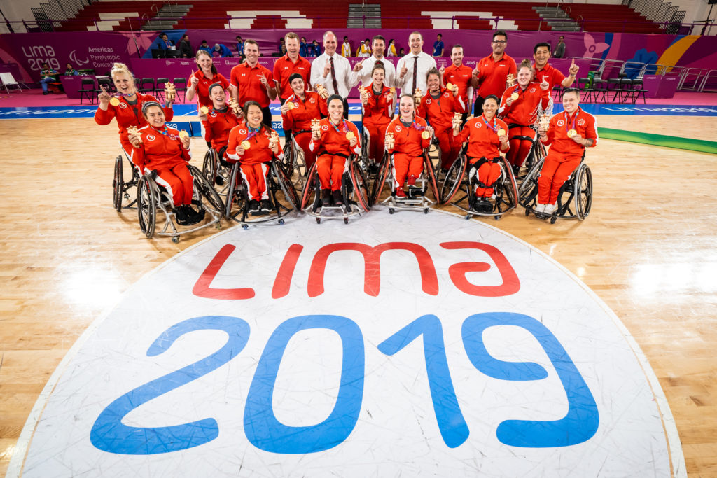Canada Wins Gold in Women's Wheelchair Basketball at Lima 2019 ...